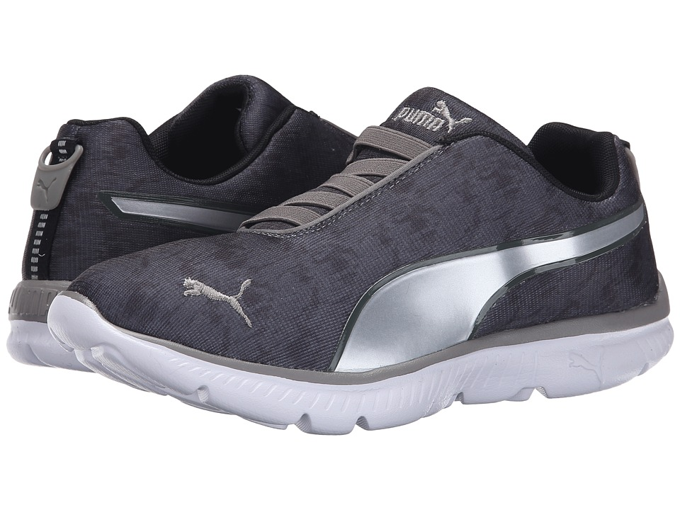 PUMA - FashIN Diag Gore (Steel Gray/Puma Silver/Black) Women