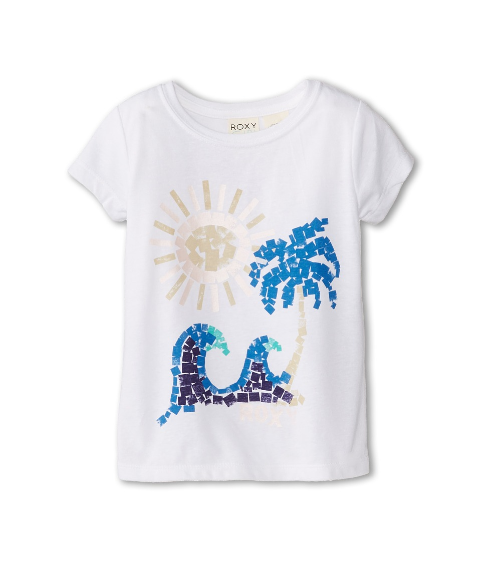 Roxy Kids - Paint Beach Crew (Toddler/Little Kids/Big Kids) (Sea Salt) Girl's Clothing