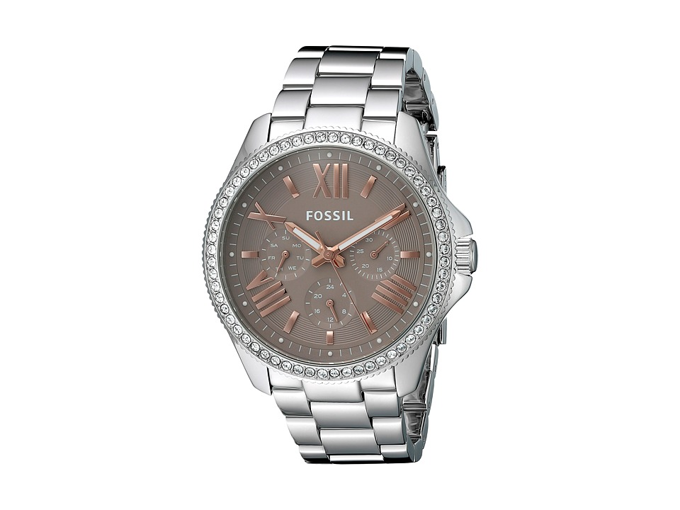 Fossil - Cecile - AM4628 (Silver) Watches