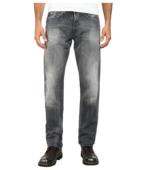 True Religion - Geno Slim Jeans in Inox Grey (Inox Grey) Men