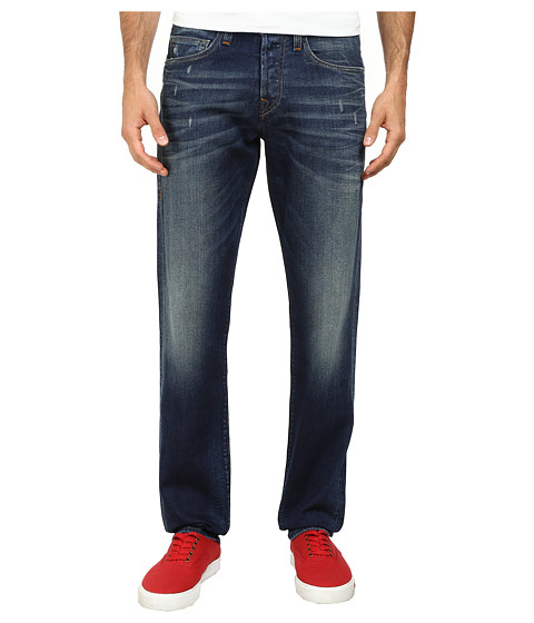 True Religion - Geno Slim Jeans in Oversea Blue (Oversea Blue) Men