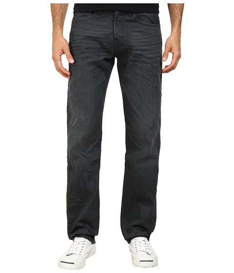True Religion - Geno Slim Jeans in Black Rail (Black Rail) Men