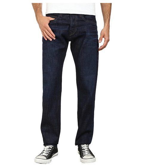 True Religion - Rocco Slim Selvedge Denim in Dark Selvedge (Dark Selvedge) Men