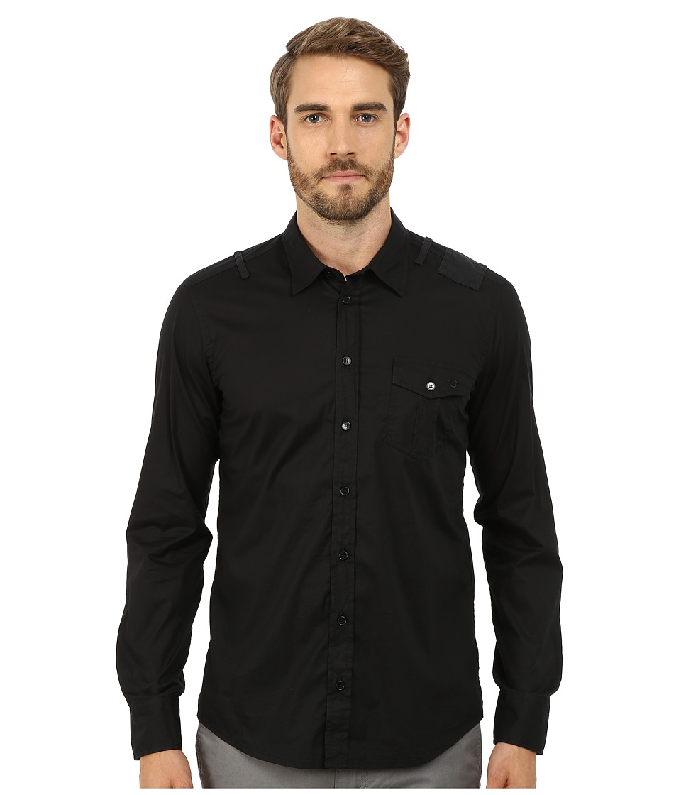 True Religion - Richard Shirt (Black) Men