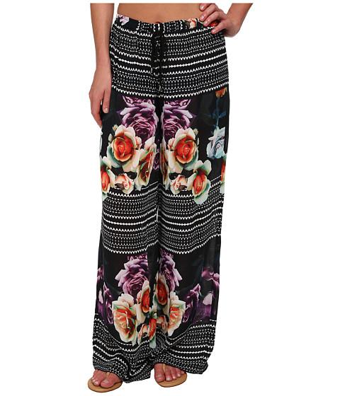 Nicole Miller - Rosa Honolulu Pants (Black Multi) Women's Casual Pants