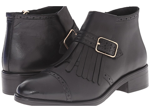 Miz Mooz - Aniston (Black) Women's Zip Boots