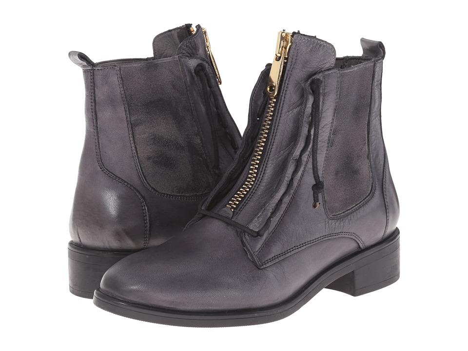 Miz Mooz - Affair (Grey) Women's Lace-up Boots
