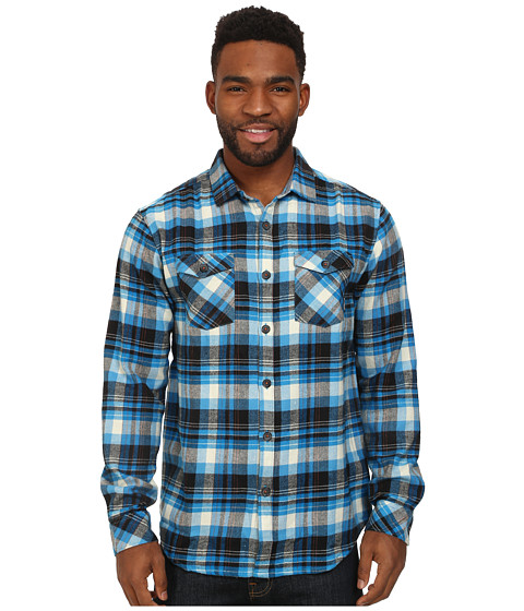 Billabong - High Jacked Long Sleeve Button Up (Blue) Men's Long Sleeve Button Up