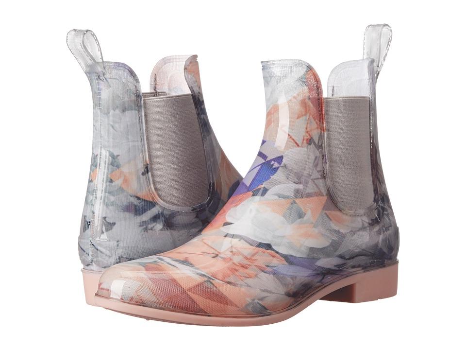 NoSoX - Myst (Pink/Floral) Women's Rain Boots