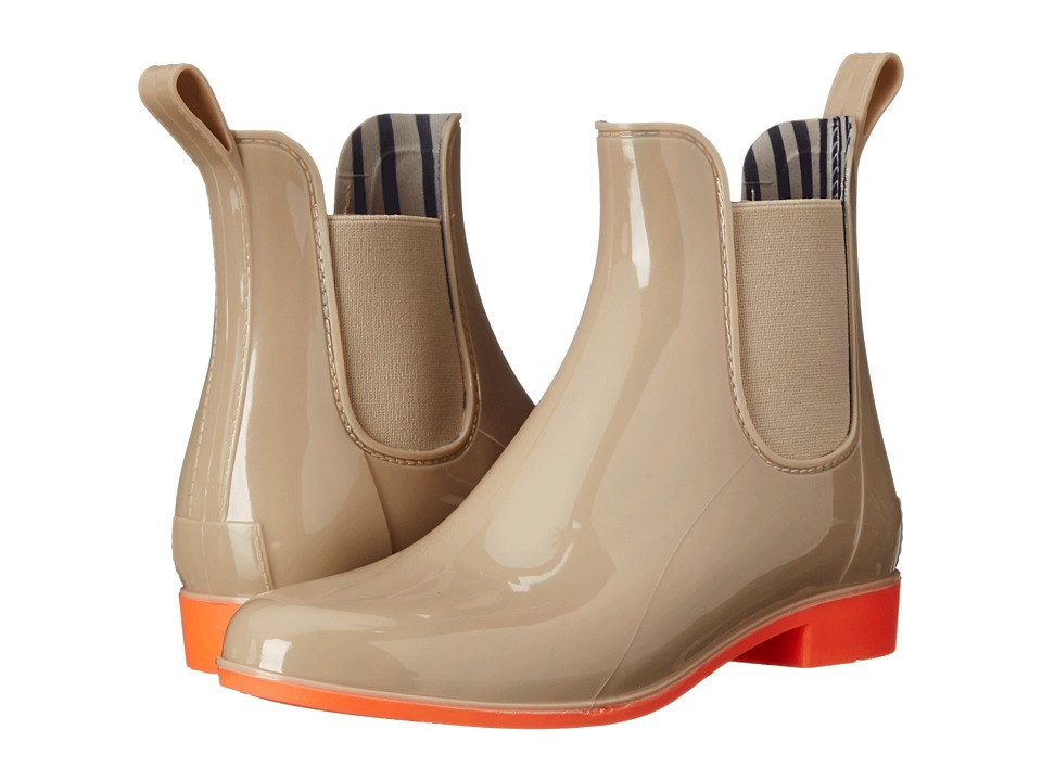 NoSoX by Deer Stags - Myst (Taupe/Orange) Women's Rain Boots