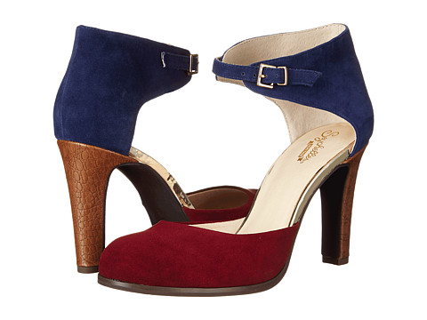 Seychelles - Hopeful (Oxblood/Navy Suede) High Heels