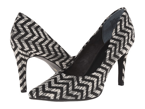 Seychelles - Frequency (Black/White Chevron) Women's Shoes