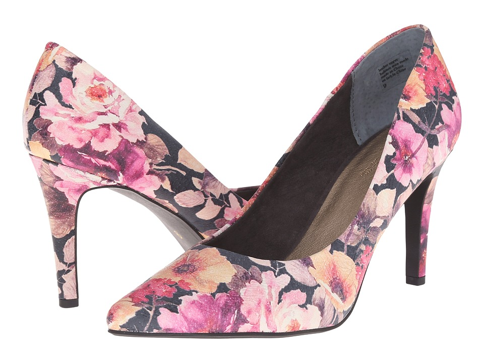 Seychelles - Frequency (Dark Floral) Women's Shoes