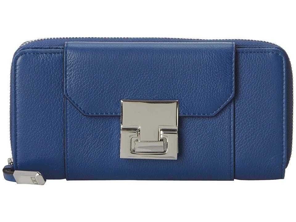 Ivanka Trump - Hopewell Organizer Wallet (Cobalt) Wallet Handbags