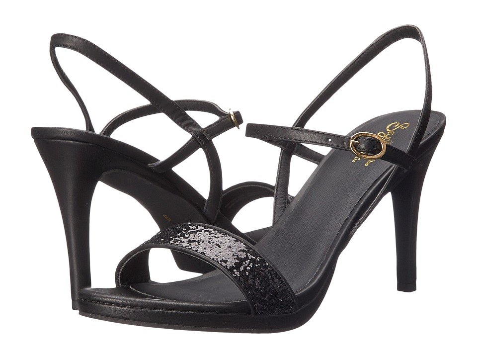 Seychelles - Sweet As Honey (Black Glitter) High Heels