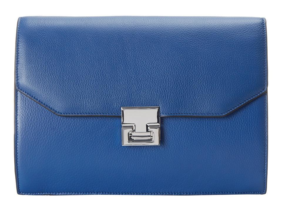 Ivanka Trump - Hopewell Clutch (Cobalt) Clutch Handbags