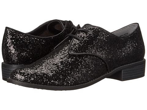 Seychelles - Welcome Back (Black Glitter) Women's Plain Toe Shoes