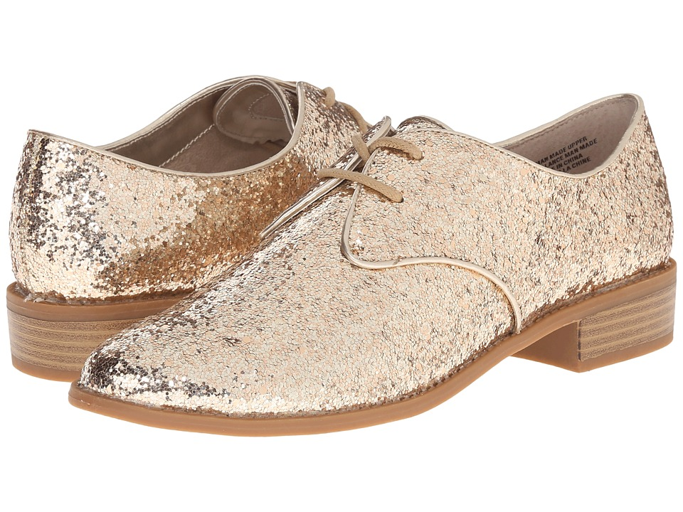 Seychelles - Welcome Back (Gold Glitter) Women's Plain Toe Shoes