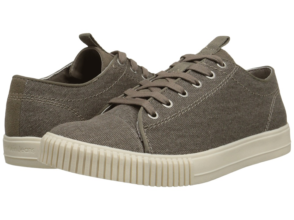 Calvin Klein Jeans - Jerome (Stone Canvas/Suede) Men