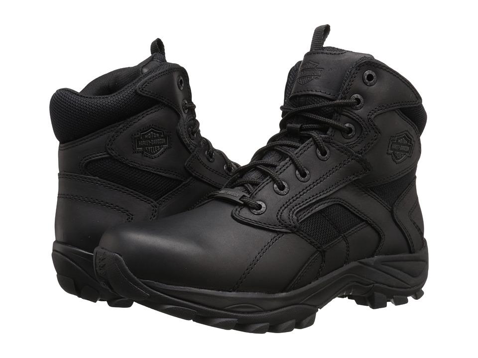 Harley-Davidson - Claverton (Black) Men's Lace-up Boots