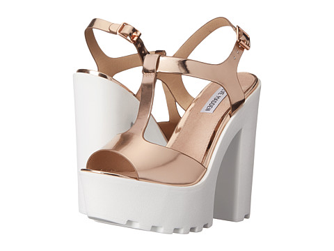 Steve Madden - Girltalk (Rose Gold) High Heels