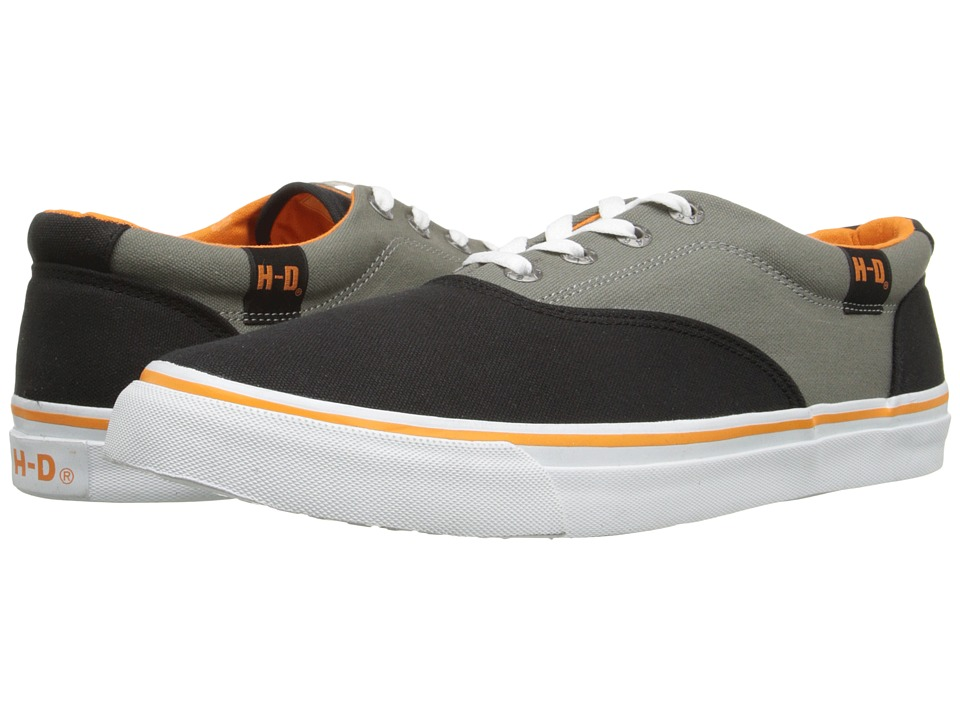 Harley-Davidson - Lawthorn (Black/Grey) Men's Lace up casual Shoes