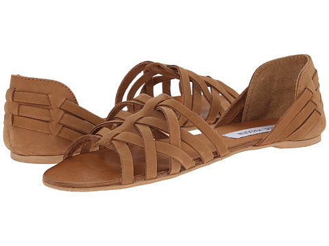 Steve Madden - Flute (Cognac Leather) Women