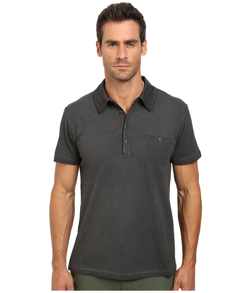 BOSS Orange - Perpignan Short Sleeve Polo (Black) Men's Short Sleeve Knit