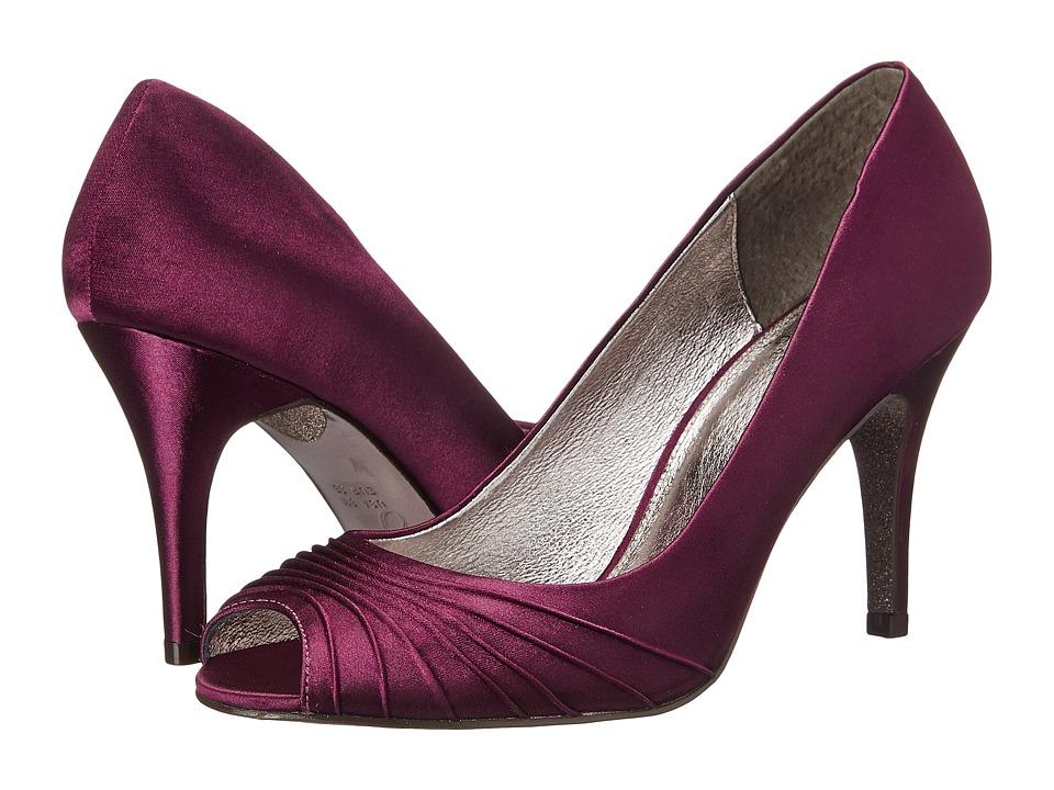 Adrianna Papell Farrel (Cassis Satin) High Heels