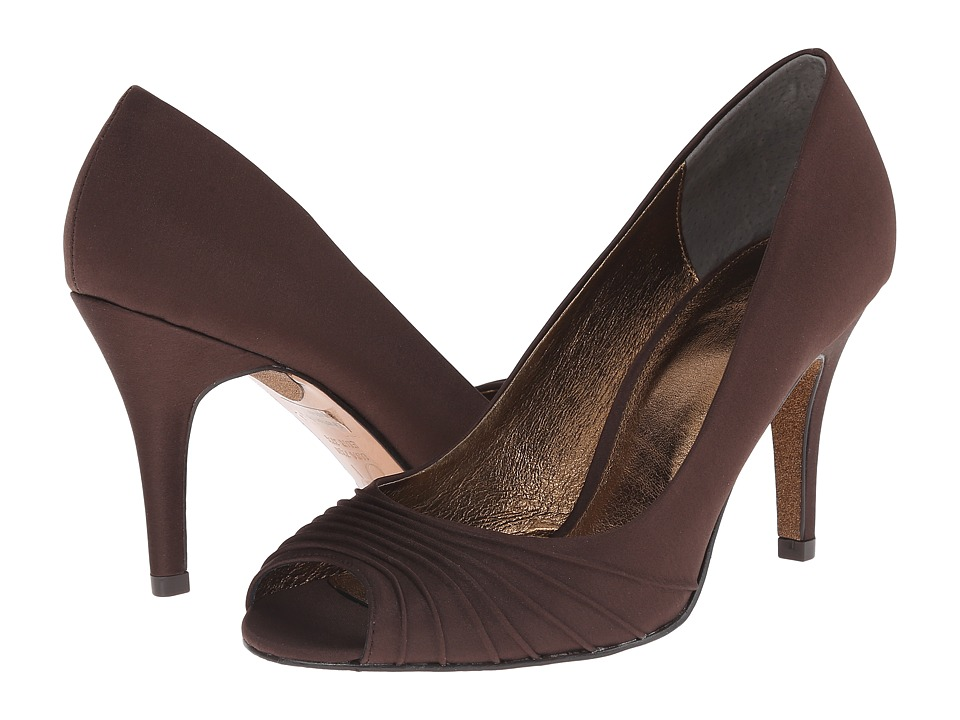 Adrianna Papell - Farrel (Chocolate Lux Satin) High Heels