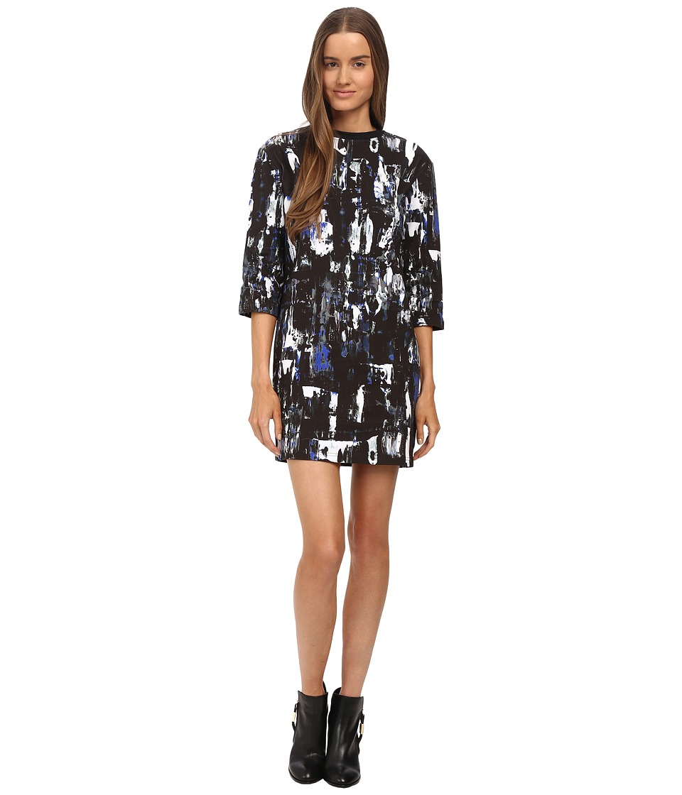 McQ - 1/2 Box Dress (Richter Print) Women's Dress