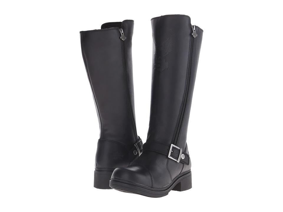 Harley-Davidson - Hutcheson (Black) Women's Zip Boots