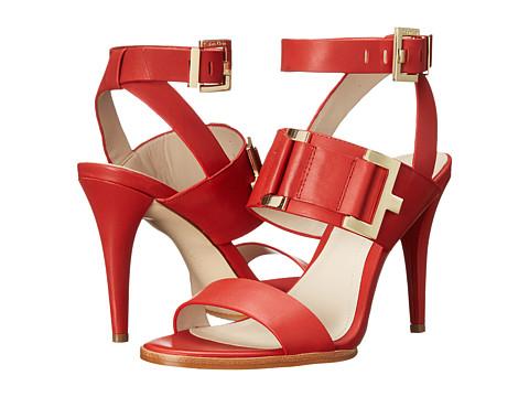 Calvin Klein - Vanesa (Cerise Leather) High Heels