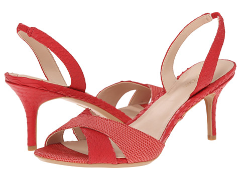 Calvin Klein - Lucette (Lacquer Red Liz/Python Leather) Women's Shoes