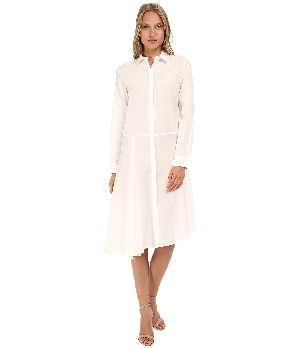 McQ - Drape Shirtdress (Stone) Women
