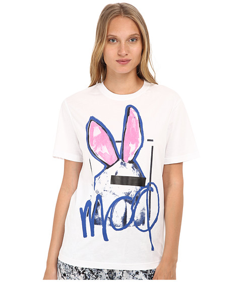 McQ - Boyfriend T-Shirt (Optic White) Women