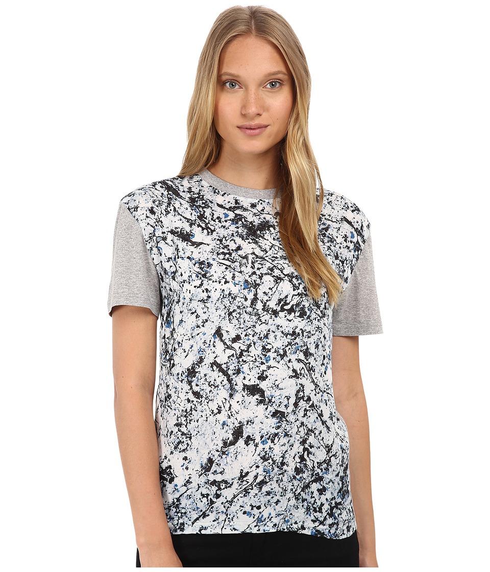 McQ - Boyfriend T-Shirt (Marble Print) Women