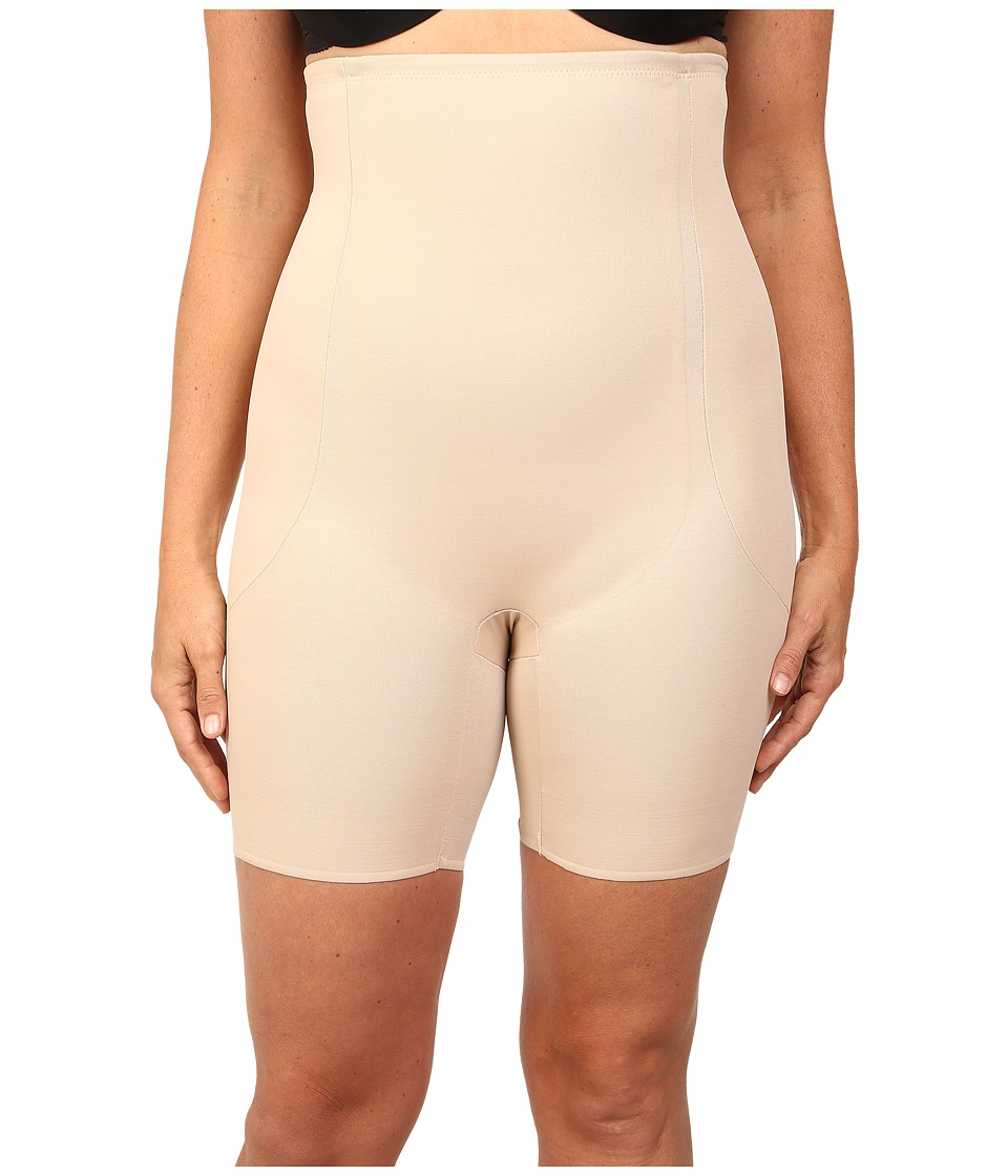 Miraclesuit Shapewear - Full Figure High Waist Thigh Slimmer (Nude) Women's Underwear
