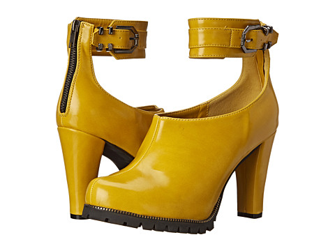 C Label - Binky-1 (Yellow) High Heels
