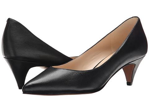 Nine West - Cassy (Black Leather) Women