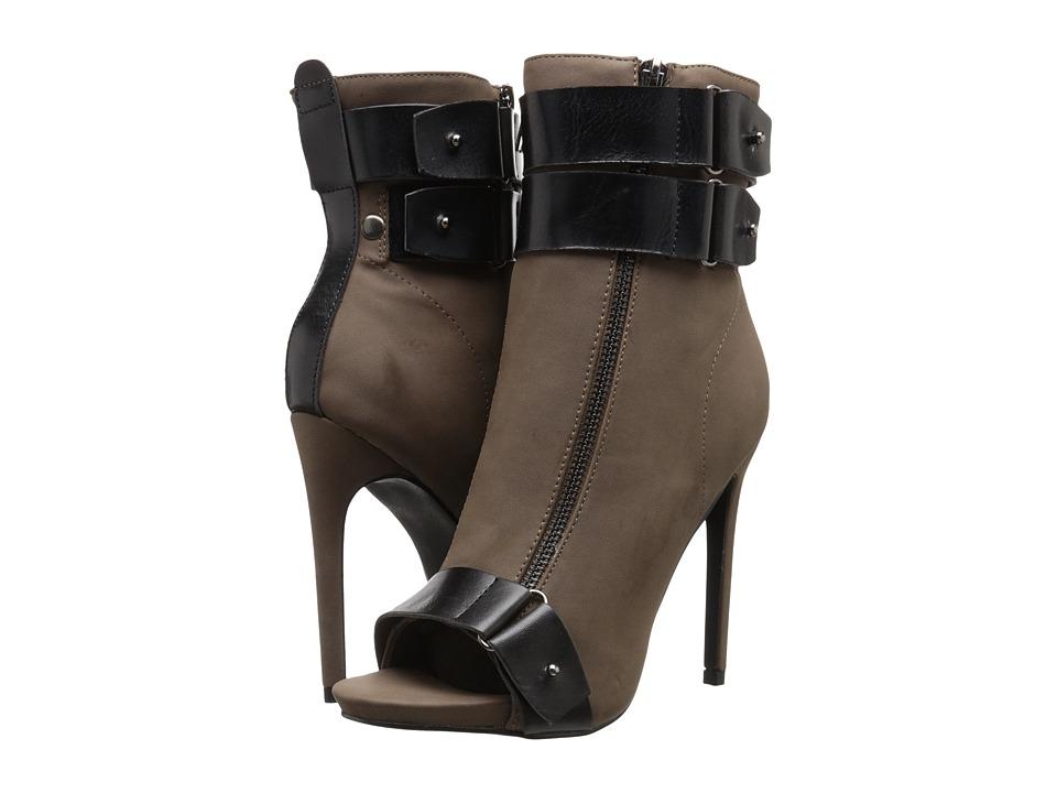 C Label - Olive-36 (Dark Taupe) High Heels
