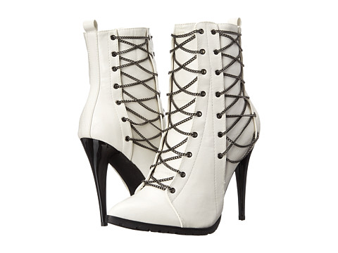 C Label - Sharan-13 (White) Women's Boots