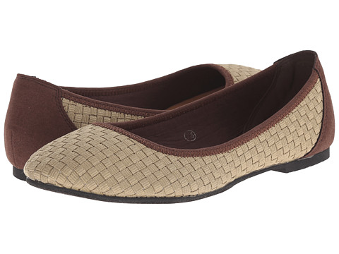 C Label - Cosy-5 (Light Taupe) Women's Flat Shoes