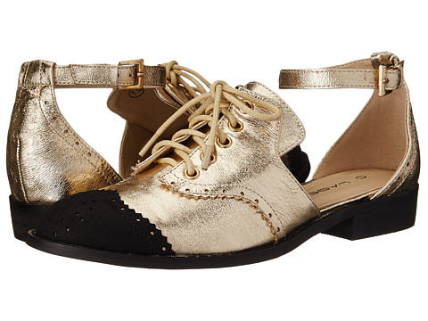 C Label - Beemer-4 (Gold) Women's Lace up casual Shoes