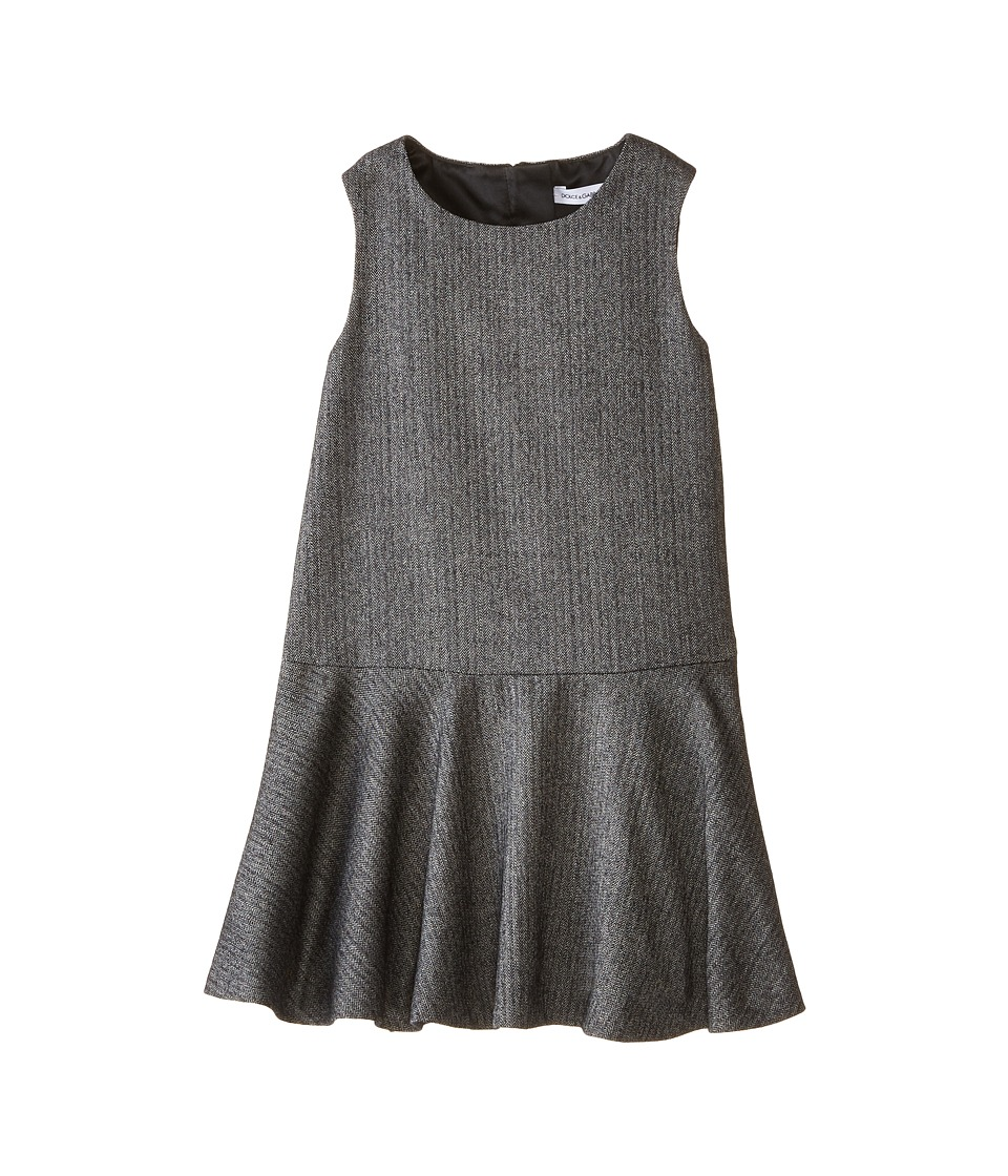 Dolce & Gabbana - City Flared Dress (Infant) (Grey) Women