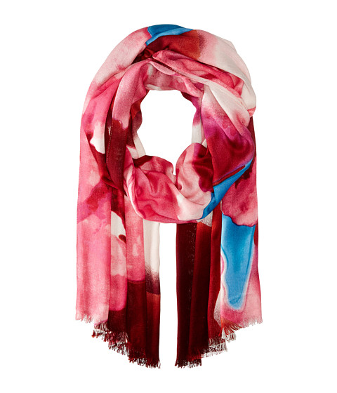 Vince Camuto - Blurred Blooms (Azalea Pink) Scarves