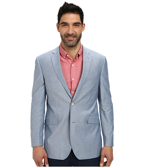 U.S. POLO ASSN. - Chambray Two-Button Blazer (Sky Blue) Men's Jacket