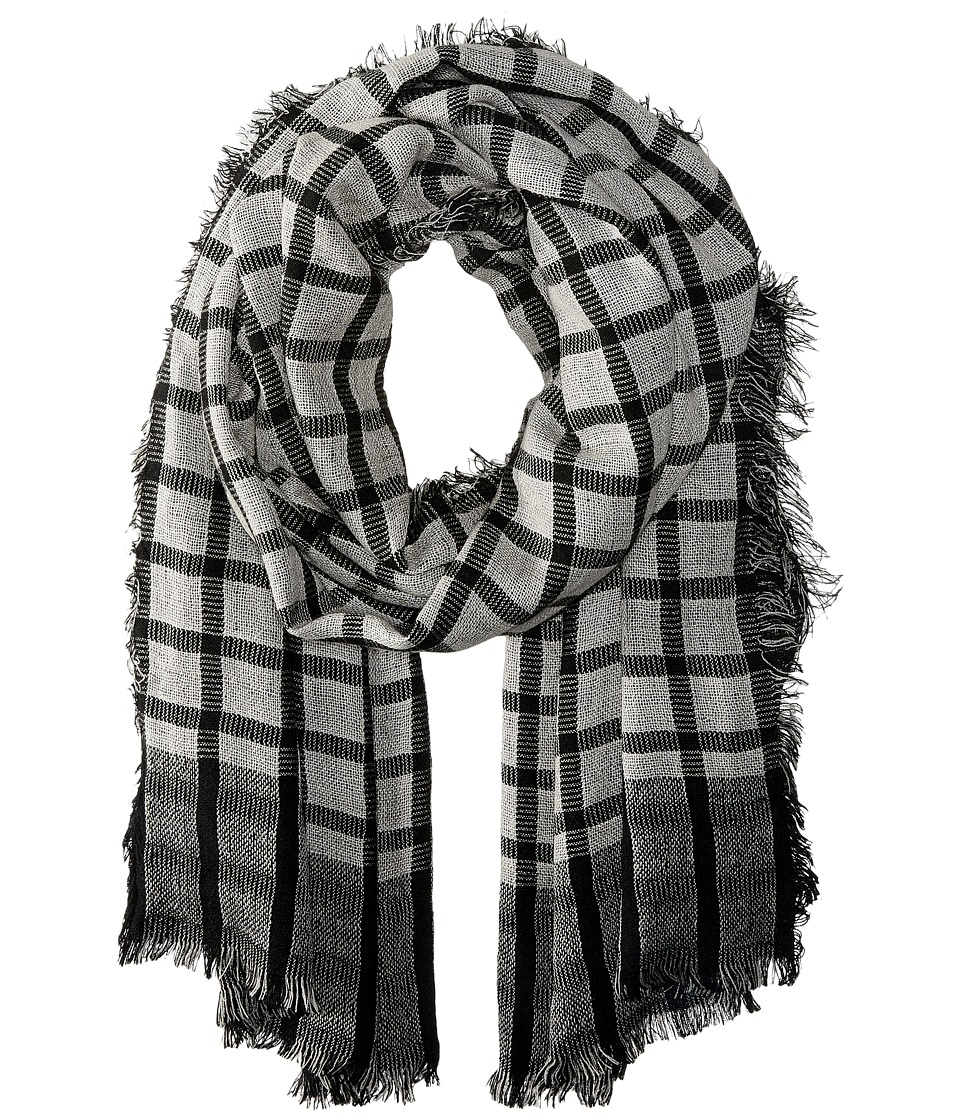Vince Camuto - Check-Mate Wrap (Eternal Night) Scarves