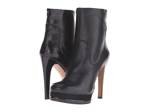 Nine West - Addlana (Black Leather 2) Women's Pull-on Boots