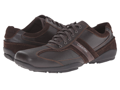 Calvin Klein - Ben (Dark Brown 1) Men's Lace up casual Shoes